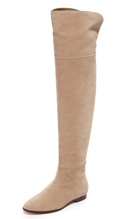 Joie Harmonee Over The Knee Boots - Gesso
