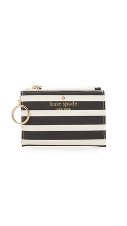 Kate Spade New York Cori Coin Case - Black/Sandy Beach