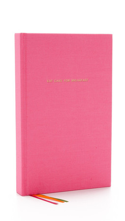 Kate Spade New York Eat Cake For Breakfest Journal - Pink