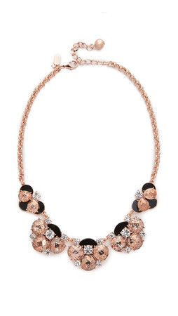 Kate Spade New York Fame & Flowers Necklace - Black Multi