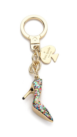 Kate Spade New York Glitter Shoe Keychain - Multi