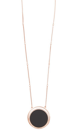 Kate Spade New York In The Spotlight Long Pendant Necklace - Black Multi