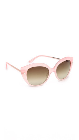 Kate Spade New York Kaelee Sunglasses - Milky Pink/Warm Brown Grad
