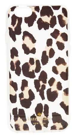 Kate Spade New York Leopard Clear Iphone 6 / 6S Case - Clear Multi