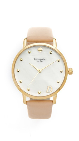 Kate Spade New York Metro Monogram Watch - D