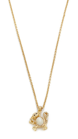 Kate Spade New York Monkey See Monkey Do Necklace - Cream Multi