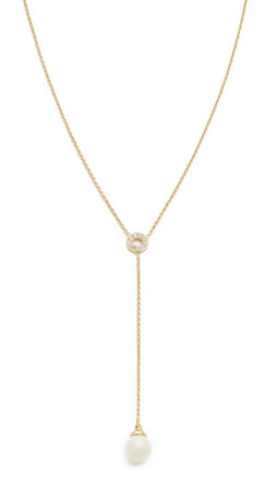 Kate Spade New York Purely Pearly Y Necklace - Cream Multi