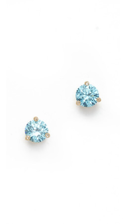 Kate Spade New York Rise & Shine Small Stud Earrings - Blue