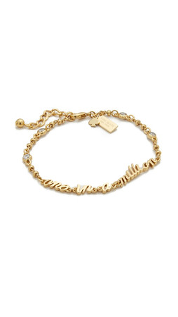 Kate Spade New York Say Yes One In A Million Bracelet - Clear/Gold