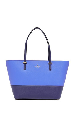 Kate Spade New York Small Harmony Tote - Ocean Blue/Adventure Blue