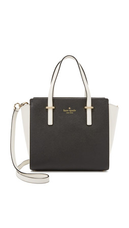 Kate Spade New York Small Hayden Bag - Black/Cement