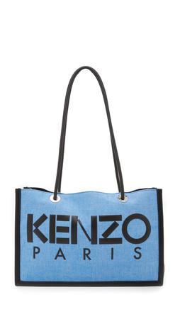 Kenzo Speedy Tote Bag - Bleu France