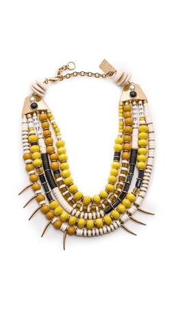 Lizzie Fortunato Island Vibes Necklace - Yellow Multi
