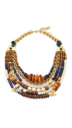 Lizzie Fortunato The Medina Necklace - Gold Multi
