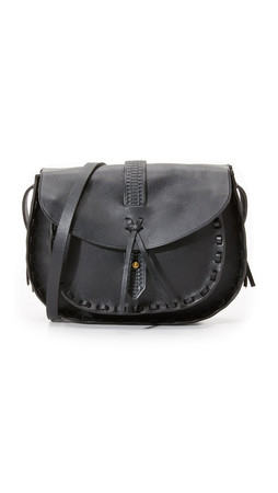 Madewell Asheville Saddle Bag - True Black