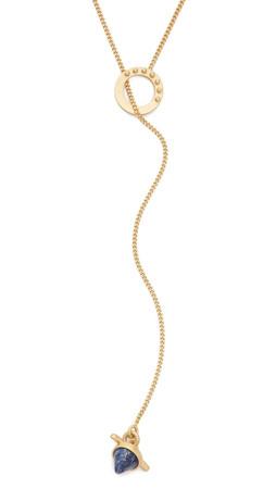Madewell Bullseye Baby Necklace - Bright Cobalt