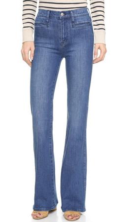 Madewell Flea Market Flare Jeans - Kara Wash