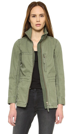 Madewell Fleet Jacket - Green
