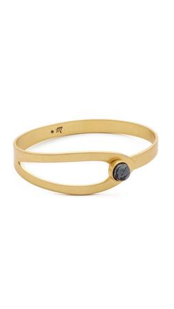 Madewell Ollie Hook Bracelet - Vintage Gold