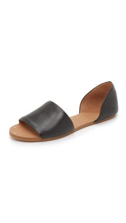 Madewell Thea Sandals - True Black