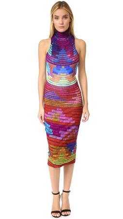 Mara Hoffman Radial Dress - Raspberry