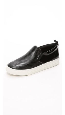 Marc By Marc Jacobs Broome Slip On Sneakers - Black