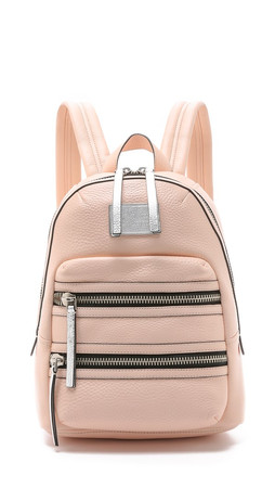 Marc By Marc Jacobs Domo Biker Backpack - Pearl Blush