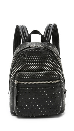 Marc By Marc Jacobs Domo Biker Degrade Studs Backpack - Black