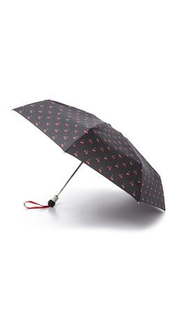 Marc By Marc Jacobs Double Cherry Umbrella - Black Multi