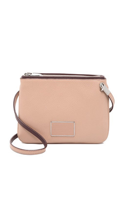Marc By Marc Jacobs Ligero Double Percy Cross Body Bag - Cameo Nude Multi