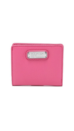 Marc By Marc Jacobs New Q Emi Wallet - Bright Rosa