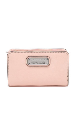 Marc By Marc Jacobs New Q Lauren Wallet - Pearl Blush