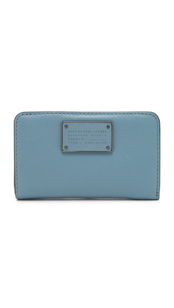 Marc By Marc Jacobs New Too Hot To Handle Lauren Wallet - Ice Blue