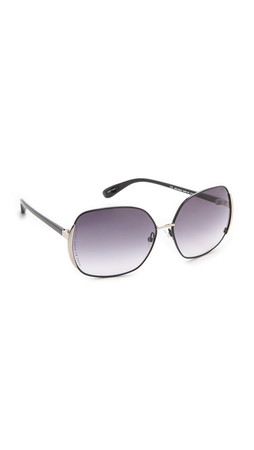 Marc By Marc Jacobs Slim Line Sunglasses - Shiny Black