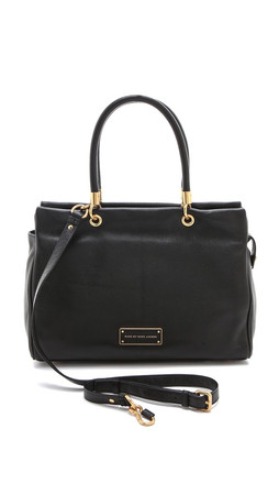 Marc By Marc Jacobs Too Hot To Handle Tote - Black