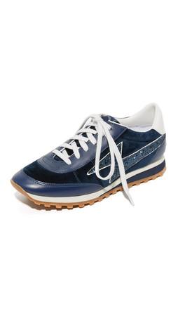 Marc Jacobs Astor Lightning Bolt Sneakers - Navy