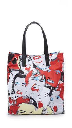 Marc Jacobs B.Y.O.T. Scream Queen Tote - Scream Queen Print
