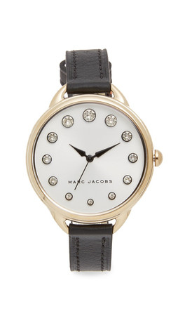 Marc Jacobs Betty Watch - Gold/Silvery White/Black