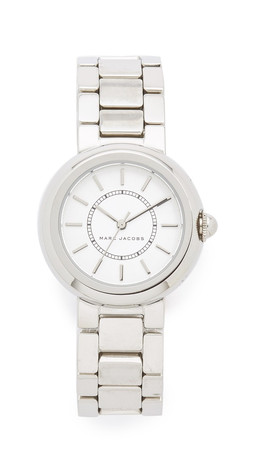 Marc Jacobs Courtney Watch - Silver/White