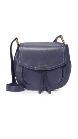 Marc Jacobs Maverick Large Saddle Bag - Midnight Blue