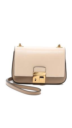 Michael Kors Collection Gia Small Chain Bag - Dune