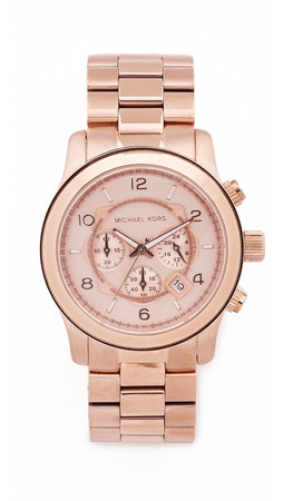 Michael Kors Oversized Watch - Rose Gold
