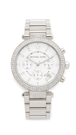 Michael Kors Parker Watch - Silver