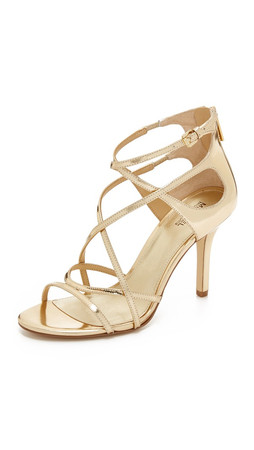 Michael Michael Kors Linette Sandals - Pale Gold