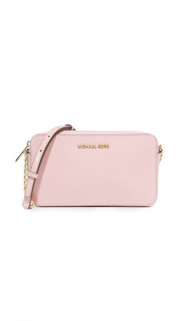 Michael Michael Kors Medium Jet Set Cross Body Bag - Blossom