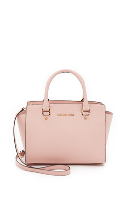 Michael Michael Kors Selma Medium Satchel - Ballet