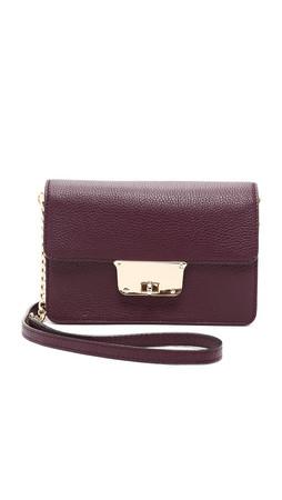 Milly Astor Cross Body Bag - Bordeaux