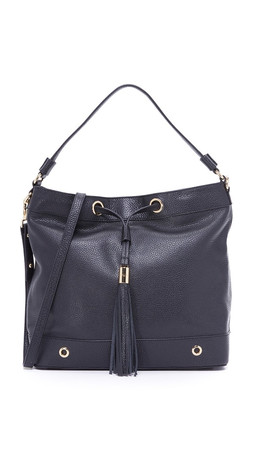 Milly Astor Hobo Bag - Black