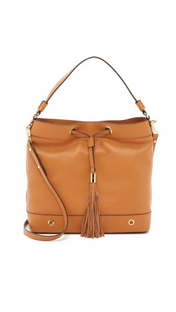 Milly Astor Hobo Bag - Caramel