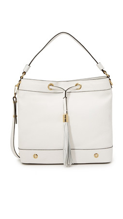 Milly Astor Hobo Bag - White